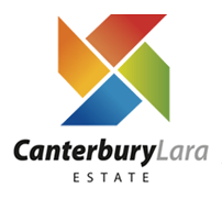 Canterbury Lara Estate Logo